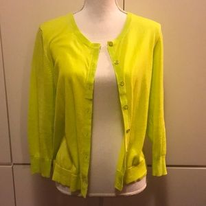 Gap large lime green sweater